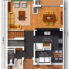 Casa pequeña en alamo sur santiago nl