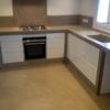 Cocina de concreto u