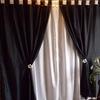 Instalación de 3 juegos de cortinas dobles