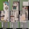Diseño de casa exteriores, roof garden, jardin y detalles interiores