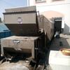 Transportación de contenedor de basura