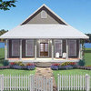 Construir una casa estilo californiana  con 4 recamaras de un solo piso,  de 10mt x 15 mt