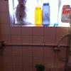 Instalación lavadora y remoción de marco puerta