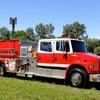 Dos Fletes de camiones de bomberos