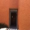 Domo/techo exterior para puerta principal 1. 2m de ancho por 90cm de fondo