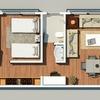 Proyecto y construcción casa, 10 por 10m en un terreno  1200 m