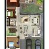 Construir casa, Terreno de 12x25