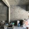 Decorar con materiales de construcción sala  y comedor