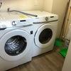 Instalación lavadora-secadora apilable, con gas natural