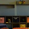 Librero/organizador madera