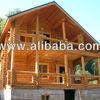 Construir cabaña de madera planta alta