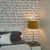 Pintar y rotular una pared de habitación