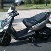Moto ws 150 gris