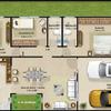 Construcción casa tipo de interés social