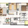 Construir casa de dos cuartos   terreno de 6. 10 ×20