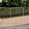 Abrir barda de jardín para colocar puerta de acceso
