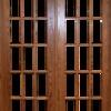 Proveer e instalar puerta de madera para balcón  De 120 x 200 cm.