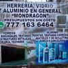 """""herreria Vidrio Y Aluminio Mondragon"""""